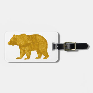 THE GOLDEN ONE LUGGAGE TAG