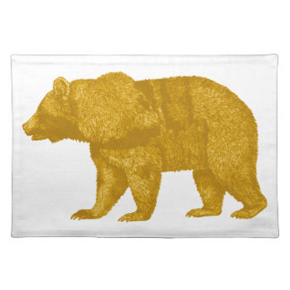 THE GOLDEN ONE PLACEMAT
