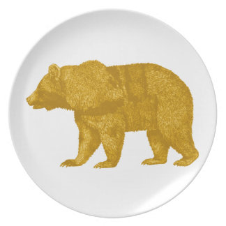 THE GOLDEN ONE PLATE