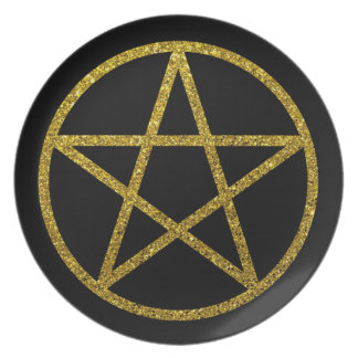 The Golden Pentacle Plate