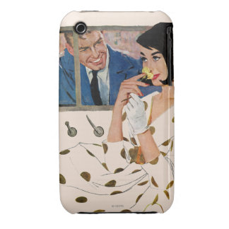 The Golden Rose iPhone 3 Case-Mate Cases
