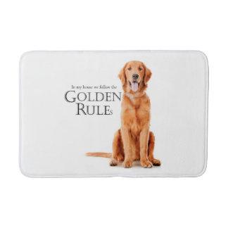 The Golden Rules Bath Mat
