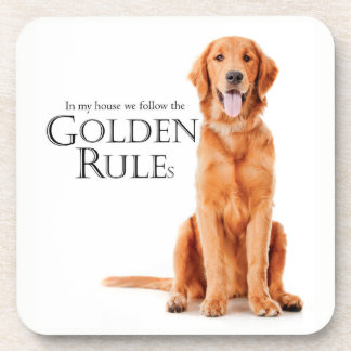 The Golden Rules Coaster Set