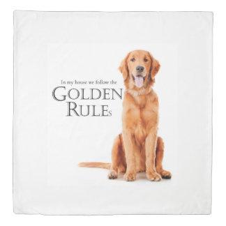 The Golden Rules Duvet Cover