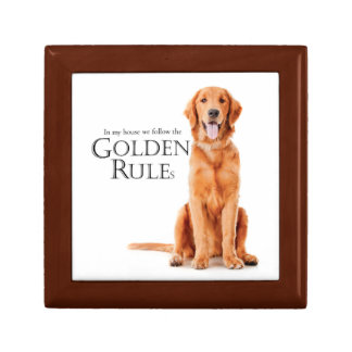 The Golden Rules Keepsake Box