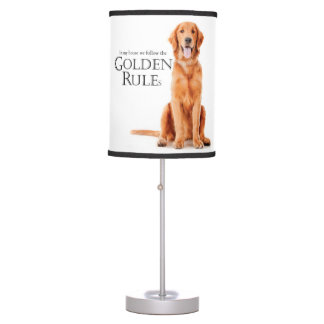 The Golden Rules Lamp