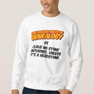 The Golden Rules of Genealogy #1 Sweatshirt