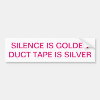 The Golden Sticker Bumper Sticker