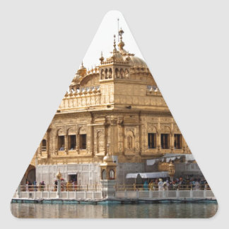 The Golden Temple in Amritsar Stickers