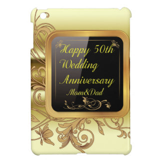 The Golden Wedding Anniversary Case Savvy iPad Min Cover For The iPad Mini