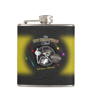 The Golden Years Moonbeam Yellow Flask