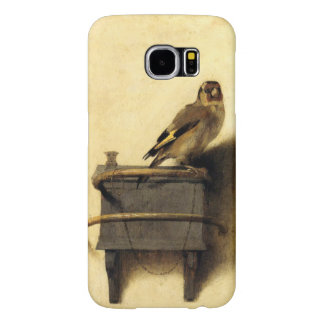 The Goldfinch by Carel Fabritius Fine Art Samsung Galaxy S6 Cases