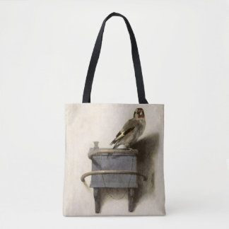 The Goldfinch by Carel Fabritius Tote Bag