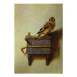 """The Goldfinch"" painting reproduction Poster"