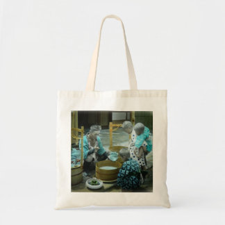 The Goldfish Merchant of Old Japan Vintage