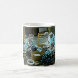 The Goldfish Merchant of Old Japan Vintage Coffee Mug