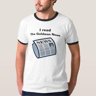 The Goldman News, I read T-Shirt