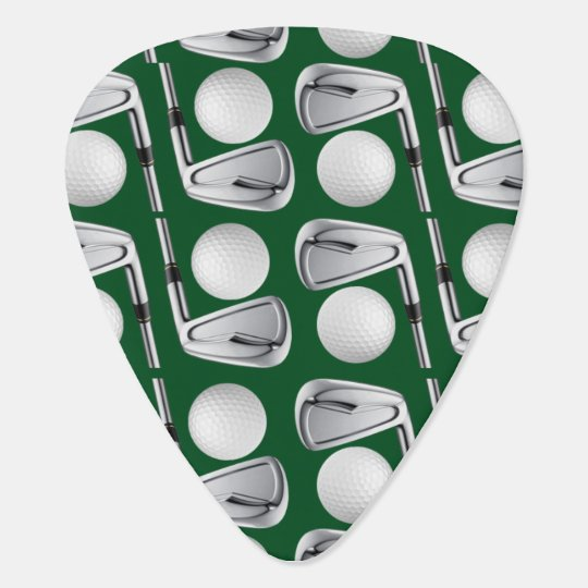 The Golfer's Guitar Pick