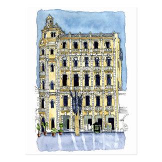 The Gomez Villa in Plaza Vieja, Old Habana, Cuba Postcard