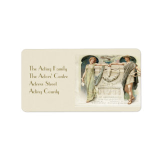 The Gondoliers Address Label