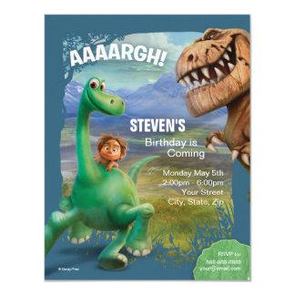 "The Good Dinosaur Birthday 4.25"" X 5.5"" Invitation Card"