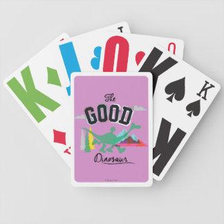 The Good Dinosaur Spot And Arlo Poker Deck