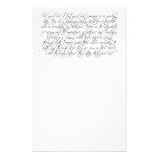 The Good End Quote Stationery