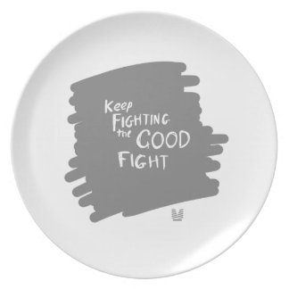 The Good fight Plate