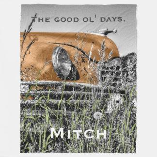 The Good Ol' Days 3 - PLUSH Large Fleece Blanket