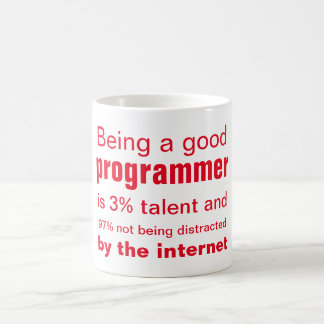 The good programmer coffee mug