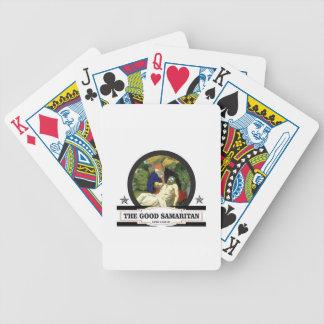 the good samaritan art bicycle playing cards