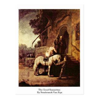 The Good Samaritan By Rembrandt Van Rijn Postcard
