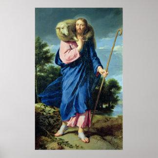 The Good Shepherd, c.1650-60 Poster