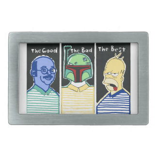 The Good The Bad The Best Belt Buckle