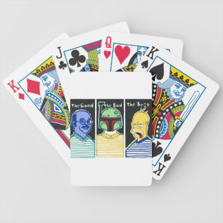 The Good The Bad The Best Bicycle Playing Cards