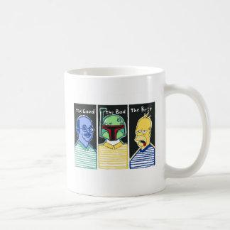 The Good The Bad The Best Coffee Mug