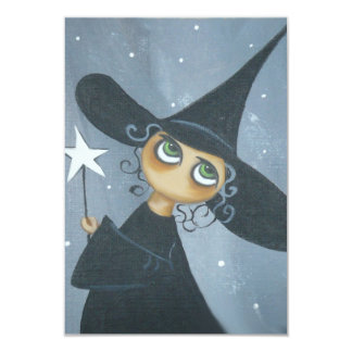 The Good Witch Halloween Party Invitation