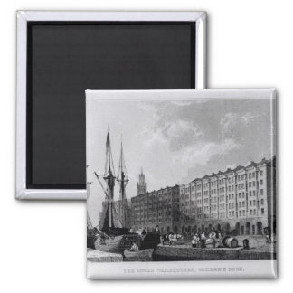 The Goree Warehouse, George's Dock, Liverpool Square Magnet