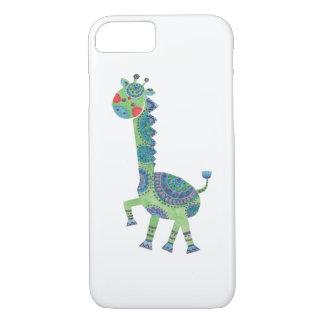 The Gorgeous Green Giraffe iPhone 7 Case
