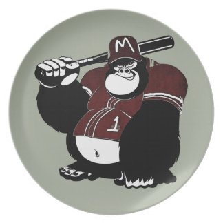 The Gorilla Baseball Club Plate