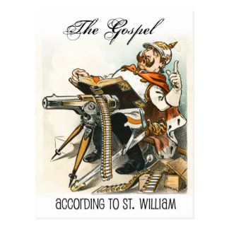 The Gospel according to St. William Postcard