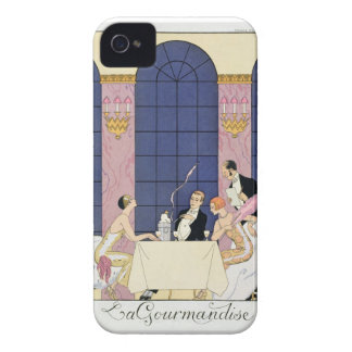 The Gourmands, 1920-30 (pochoir print) Case-Mate iPhone 4 Case