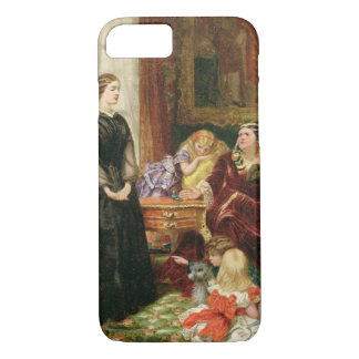 The Governess, 1860 (oil on canvas) iPhone 7 Case