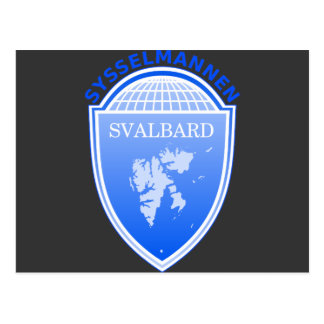 the Governor Svalbard, Norway Postcard