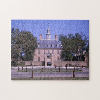 The Governor's Palace Williamsburg Virginia Jigsaw Puzzle