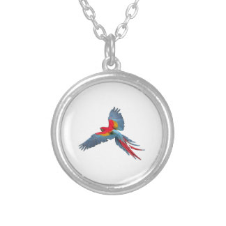 THE GRACEFUL WAY SILVER PLATED NECKLACE