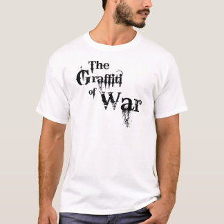 The Graffiti of War Jersey Barrier Memorial T-Shirt