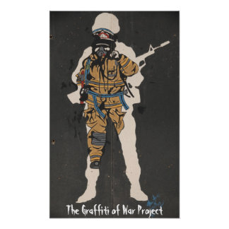 The Graffiti of War Project: National Gallery Tour Poster