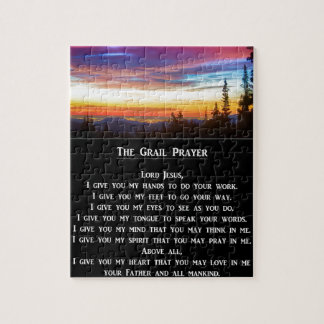 The Grail Prayer Jigsaw Puzzle