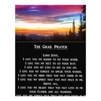 The Grail Prayer Personalized Letterhead